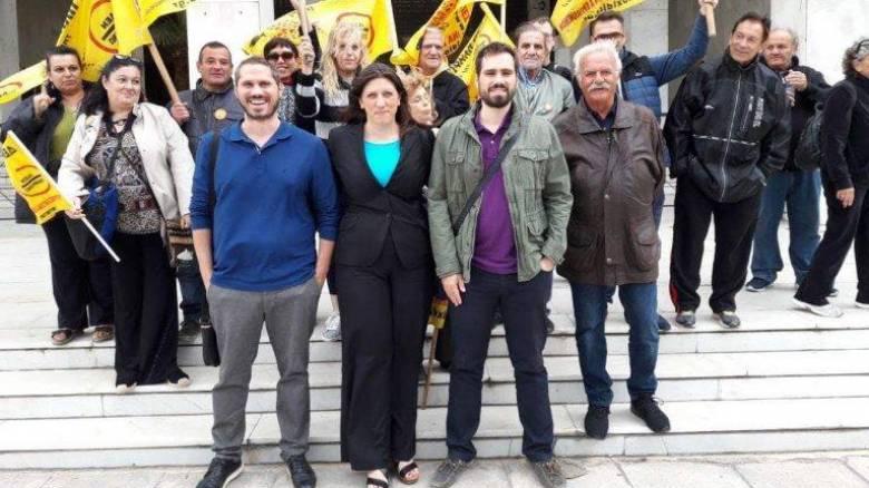 Ευρωεκλογές 2019: Οι επικεφαλής του «Δεν πληρώνω» στο ψηφοδέλτιο της Κωνσταντοπούλου