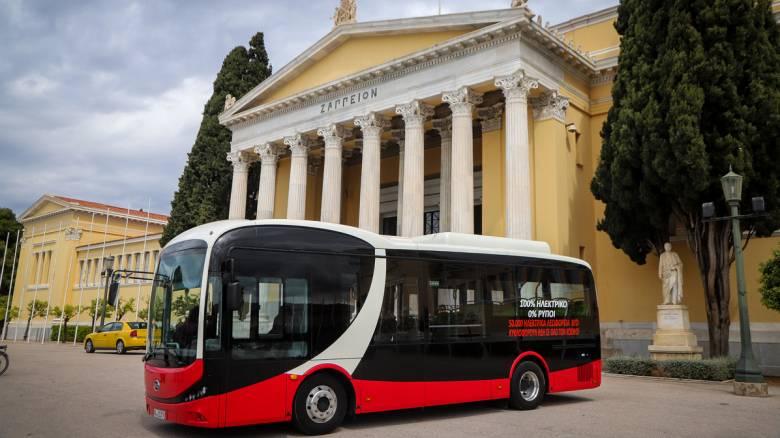 Έρχεται το πρώτο ηλεκτρικό λεωφορείο στην Αθήνα - Πώς θα λειτουργεί