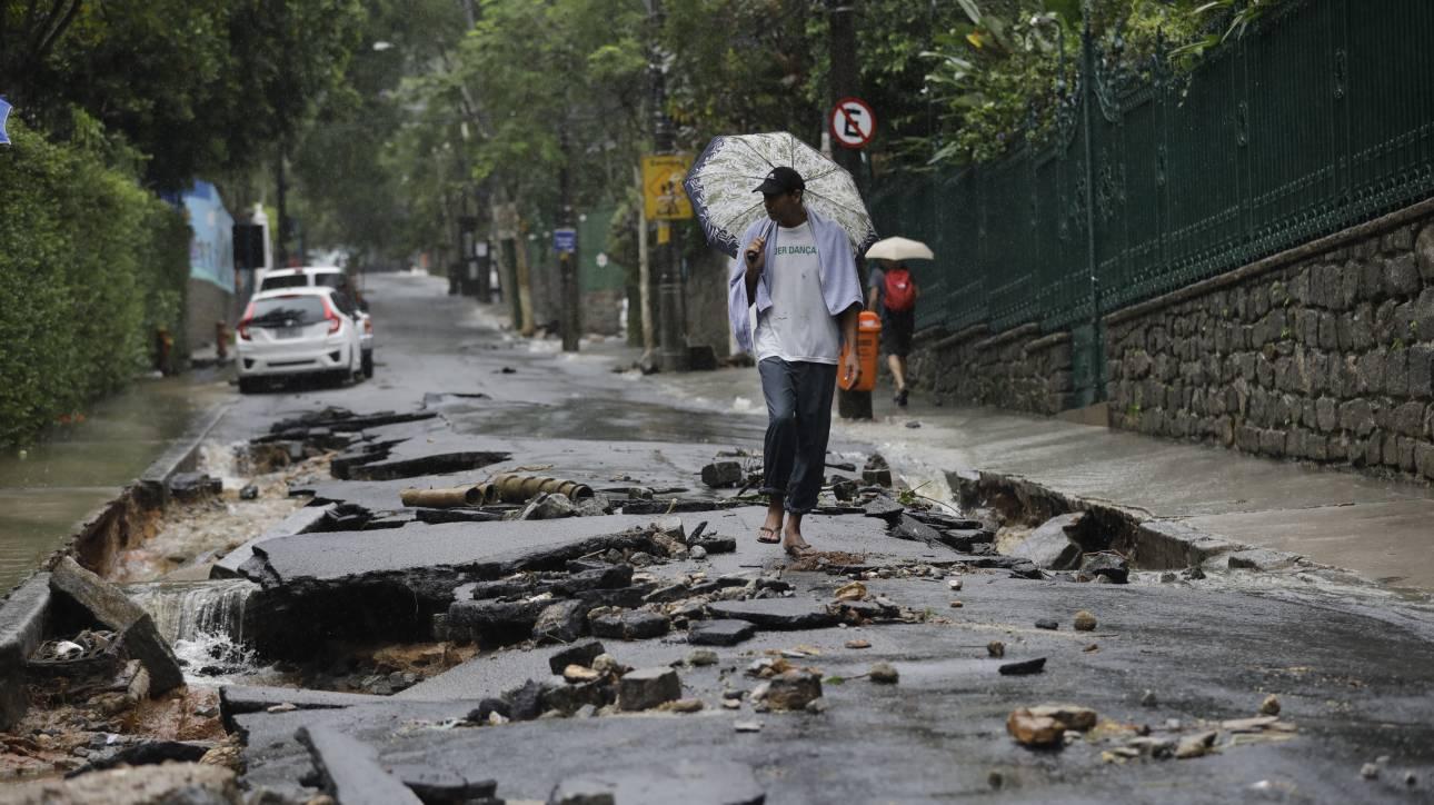 Βραζιλία: Τουλάχιστον δέκα νεκροί από πλημμύρες στο Ρίο ντε Τζανέιρο