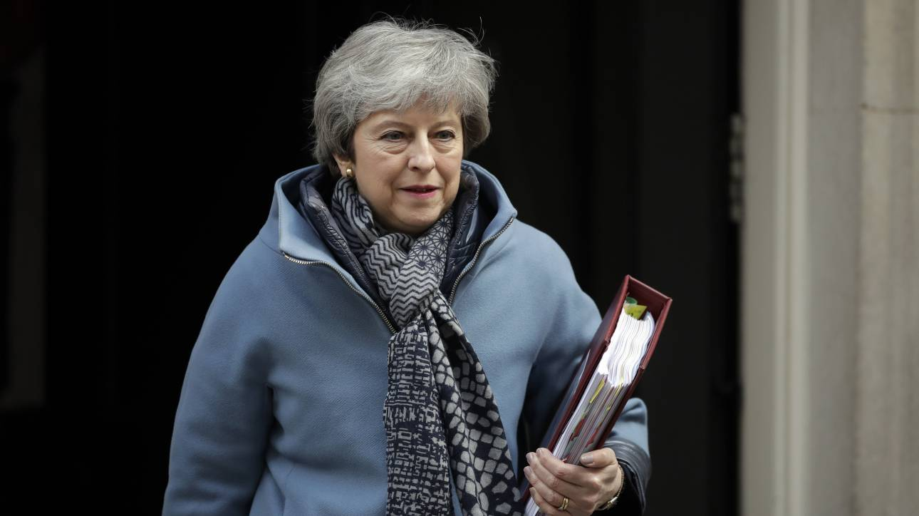 Brexit: Αντιμέτωπη με τους Ευρωπαίους ηγέτες σήμερα η Μέι