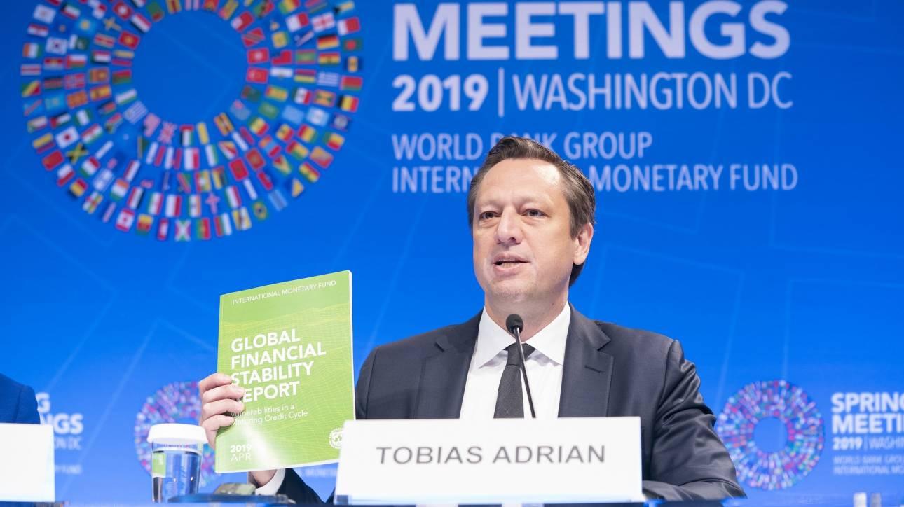 Προειδοποιήσεις ΔΝΤ για την έκθεση των τραπεζών στο κρατικό ρίσκο
