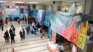 Φοιτητικές εκλογές 2019: Εισβολή αντιεξουσιαστών στο Πάντειο Πανεπιστήμιο