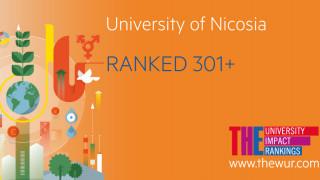 Αναγνώριση της Παγκόσμιας Συνεισφοράς του Πανεπιστημίου Λευκωσίας από το Times Higher Education