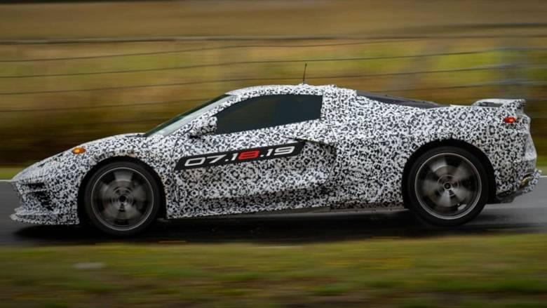Αυτοκίνητο: Η νέα Corvette θα παρουσιαστεί στις 18 Ιουλίου και θα έχει έως και 1.000 ίππους