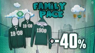 ΚΑΕ Παναθηναϊκός ΟΠΑΠ: Οικογενειακά πακέτα στα καταστήματα του γηπέδου!
