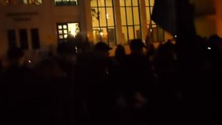 Κατερίνη: Αποδοκίμασαν τους υποψήφιους ευρωβουλευτές του ΣΥΡΙΖΑ Αρβανίτη και Νικολαΐδη