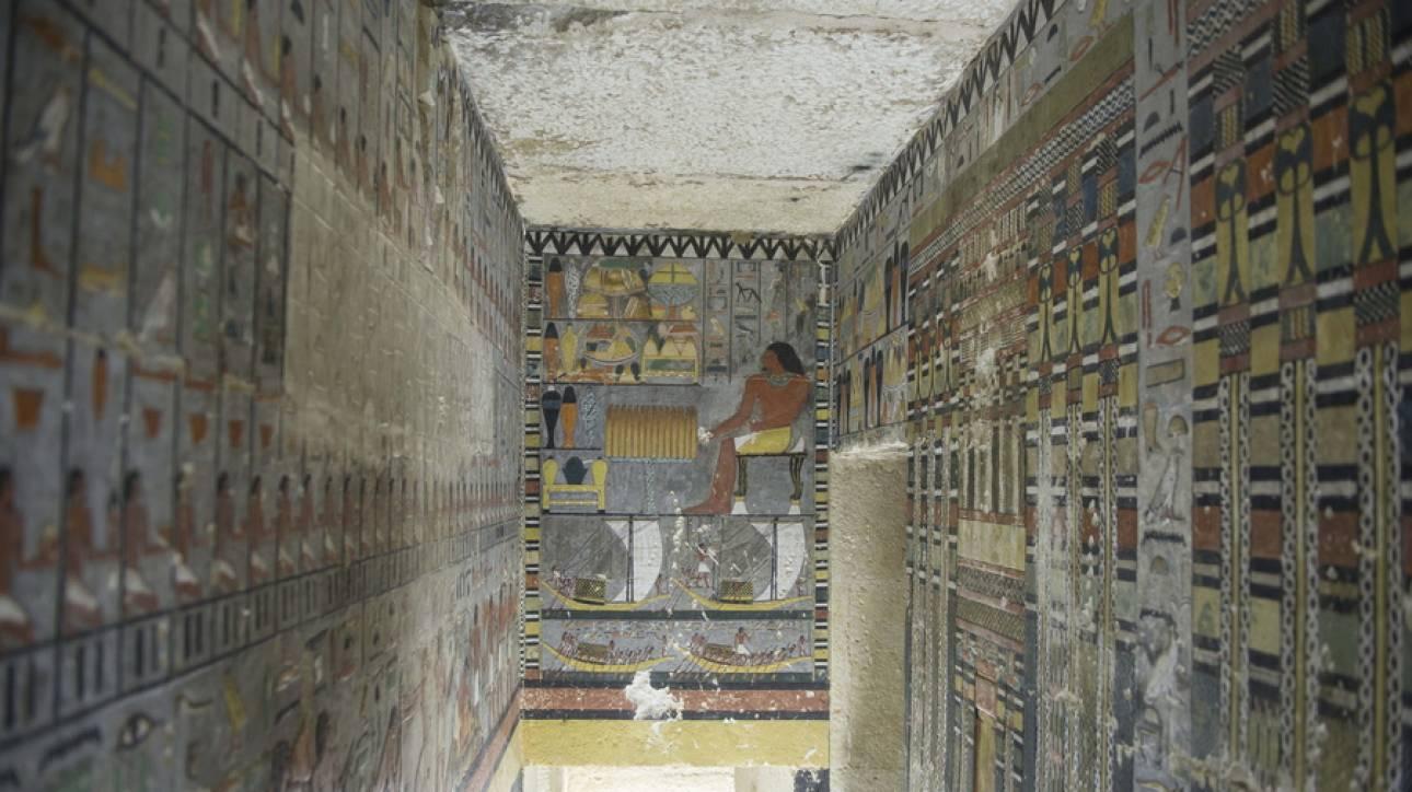 Αίγυπτος: Ανακάλυψαν ταφικό θάλαμο άνω των 4.000 ετών