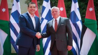 Τσίπρας: Η συνεργασία Ελλάδας, Κύπρου, Ιορδανίας ενδυναμώνει τη σταθερότητα στην Αν. Μεσόγειο