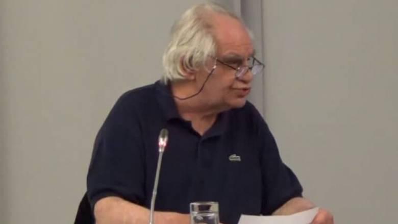 Πέθανε ο καθηγητής Γεράσιμος Βώκος