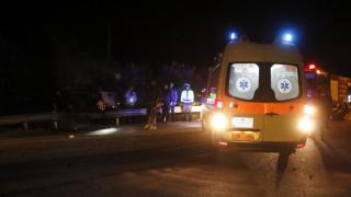 Μενίδι: Λήστεψαν ντελιβερά, προκάλεσαν τροχαίο με λεωφορείο και τραυματίστηκαν σοβαρά (pics)
