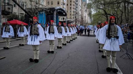 Νέα Υόρκη: Παρέλαση της ομογένειας για την 198η επέτειο της Ελληνικής Ανεξαρτησίας