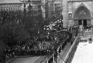 1970, η κηδεία του Σαρλ ντε Γκολ.