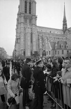 1970, η κηδεία του Σαρλ ντε Γκολ