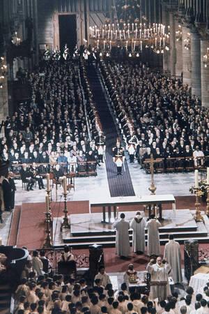 1974, η κηδεία του Ζορζ Πομπιντού.