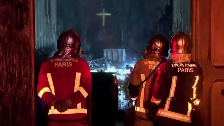 Παναγία των Παρισίων: Βίντεο από το εσωτερικό του καθεδρικού μετά την πυρκαγιά