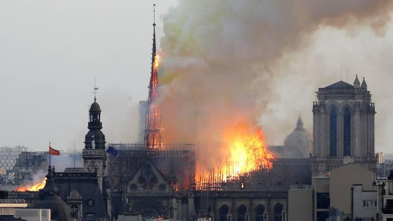 Παναγία των Παρισίων: Η Ευρώπη θα συνεισφέρει στην αποκατάσταση του καθεδρικού ναού