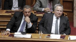 Ραντεβού για τις βίζες στη Βουλή δίνουν Καμμένος και Κοτζιάς