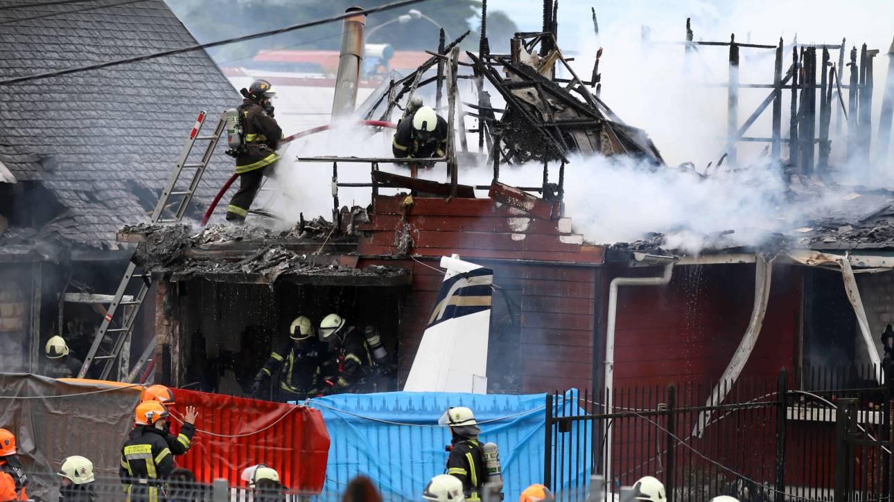 Χιλή: Έξι νεκροί από πτώση αεροπλάνου σε σπίτι