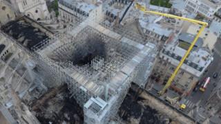 Παναγία των Παρισίων: Το μέγεθος της καταστροφής από ψηλά