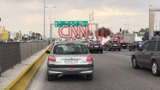 Κίνηση στους δρόμους: Μεγάλο μποτιλιάρισμα λόγω της κακοκαιρίας