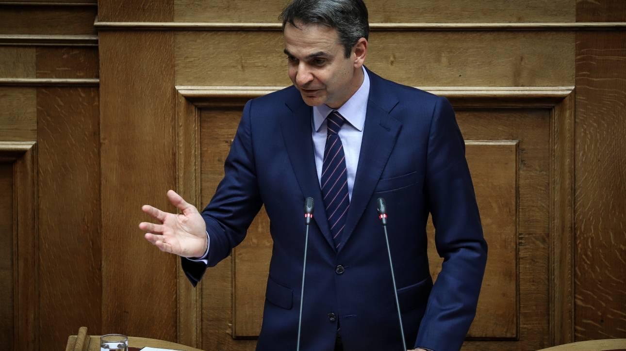 Μητσοτάκης: «Νομικά ανοιχτή και πολιτικά εφικτή» η υπόθεση του κατοχικού δανείου