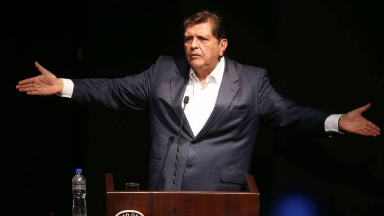 Πέθανε ο πρώην πρόεδρος του Περού που αυτοπυροβολήθηκε κατά τη σύλληψή του