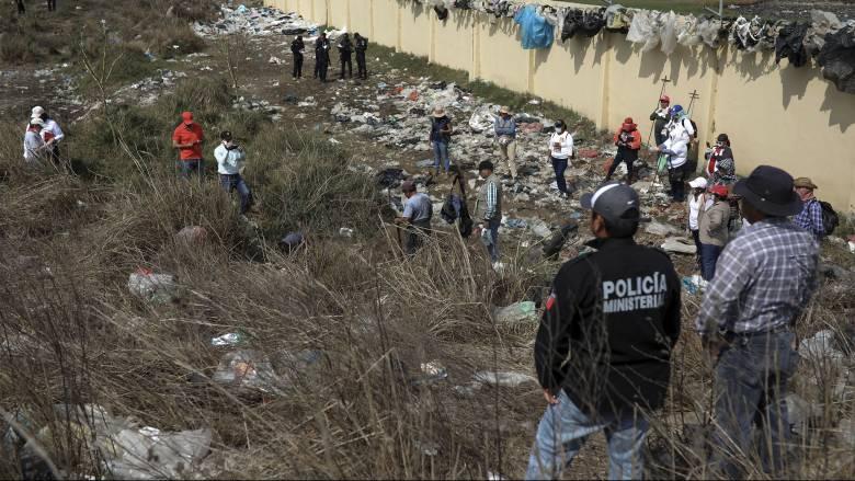 Εντοπίστηκε νέος ομαδικός τάφος στο Μεξικό - Φόβοι για εκατοντάδες πτώματα