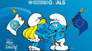 Η Ε.Ε. ενώνει τις δυνάμεις της με τα... στρουμφάκια για τη μείωση της θαλάσσιας ρύπανσης