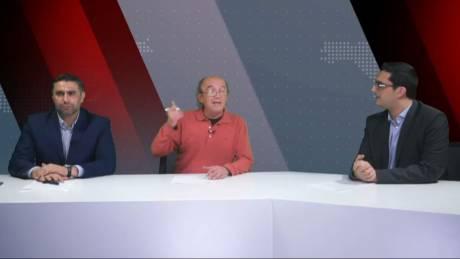 Αντιλογίες: Πάνος Λάμπρου και Σάκης Ιωαννίδης στο στούντιο του CNN Greece