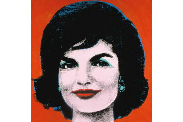 Andy Warhol Red Jackie