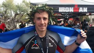 Στο βάθρο των νικητών του Ironman 70.3 Greece, Costa Navarino o OΠΑΠ Champion Γρηγόρης Σουβατζόγλου