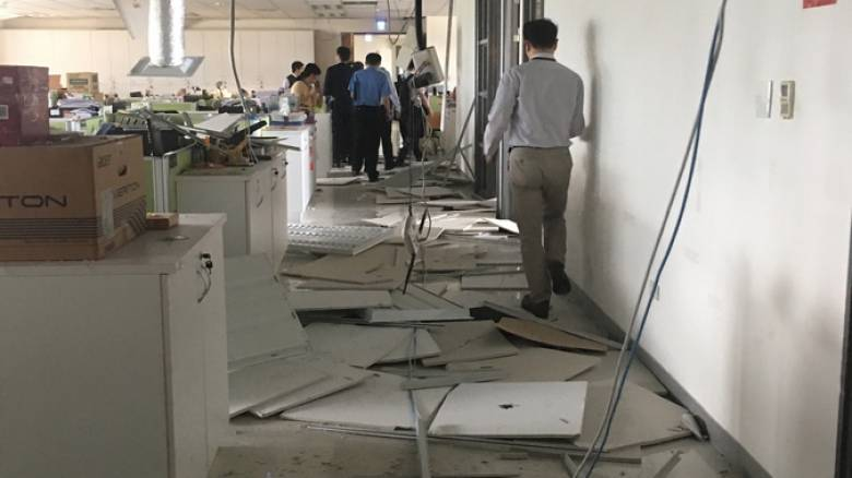 Ταϊβάν: Συγκλονιστικές εικόνες από τη στιγμή του σεισμού