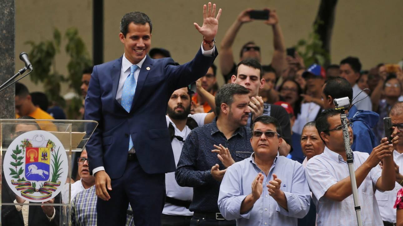 Ο Γκουαϊδο καλεί το λαό σε «μεγαλειώδη διαδήλωση» την Πρωτομαγιά