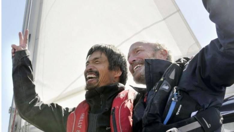 «Ευτυχισμένος» ο πρώτος άνθρωπος με απώλεια όρασης που πραγματοποίησε τον διάπλου του Ειρηνικού