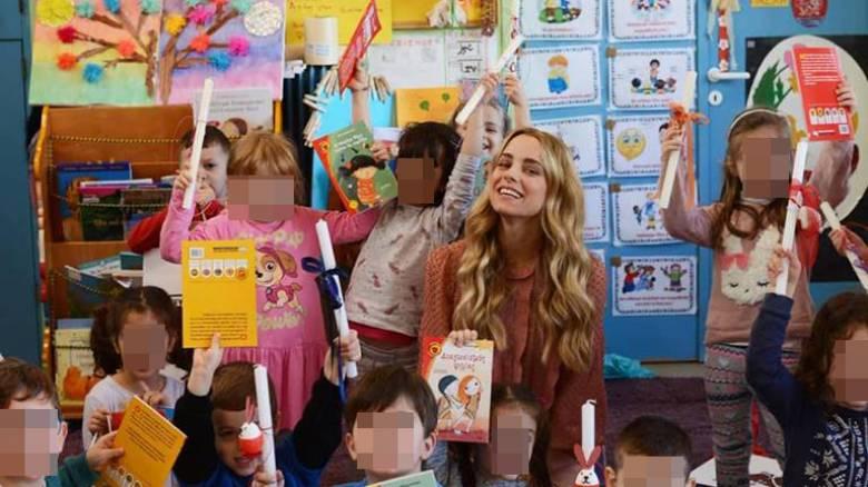 Η Δούκισσα μοίρασε χαρά και λαμπάδες στα παιδιά της Ένωσης «Μαζί για το Παιδί»