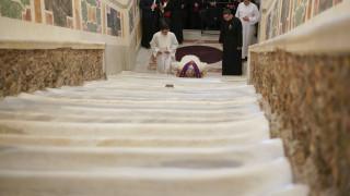 Βατικανό: Στους πιστούς μετά από 300 χρόνια τα σκαλοπάτια που ανέβηκε ο Χριστός πριν τη σταύρωσή του