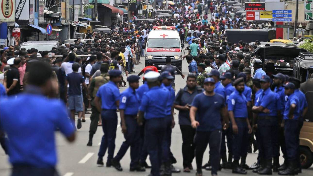Νέα έκρηξη στη Σρι Λάνκα