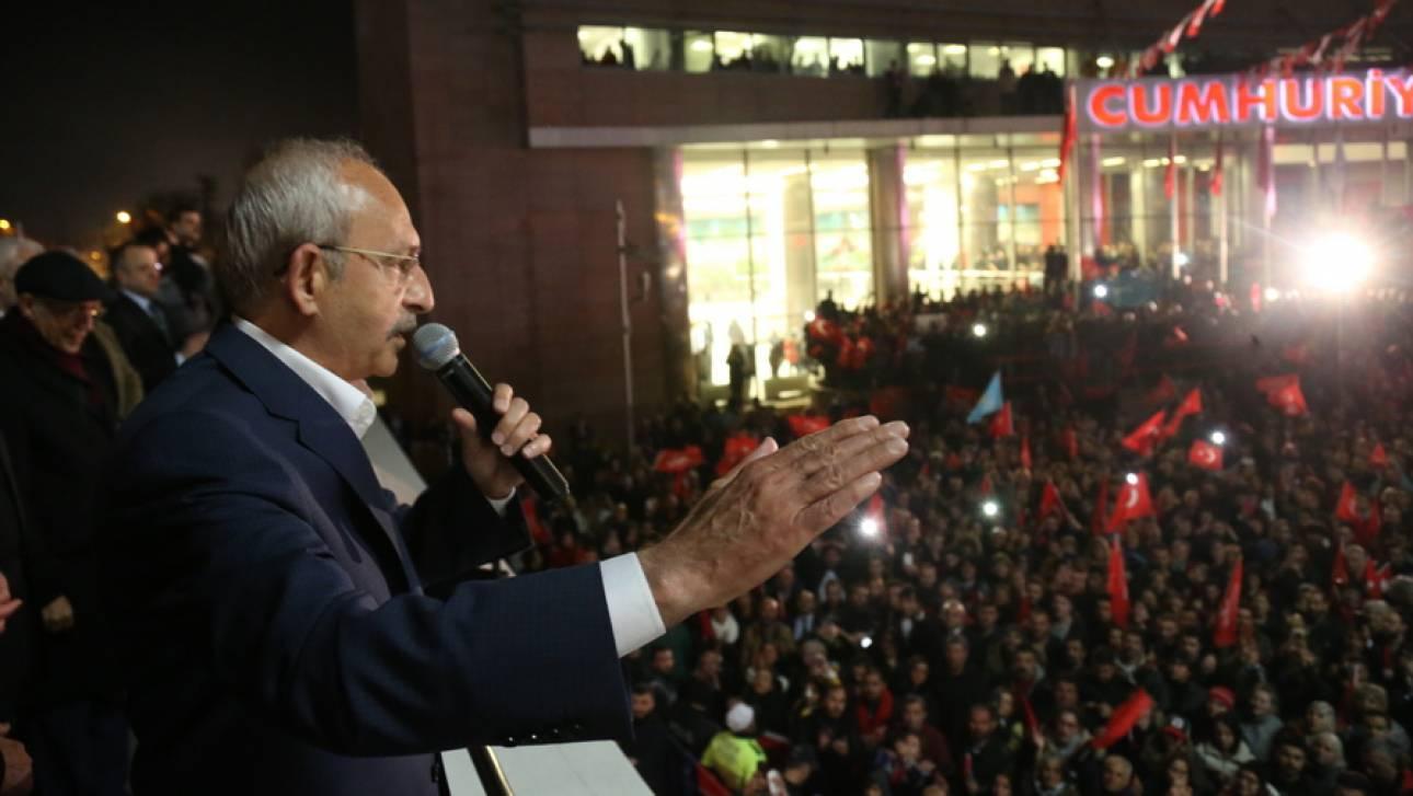 Τουρκία: Προπηλακίστηκε ο αρχηγός της αντιπολίτευσης