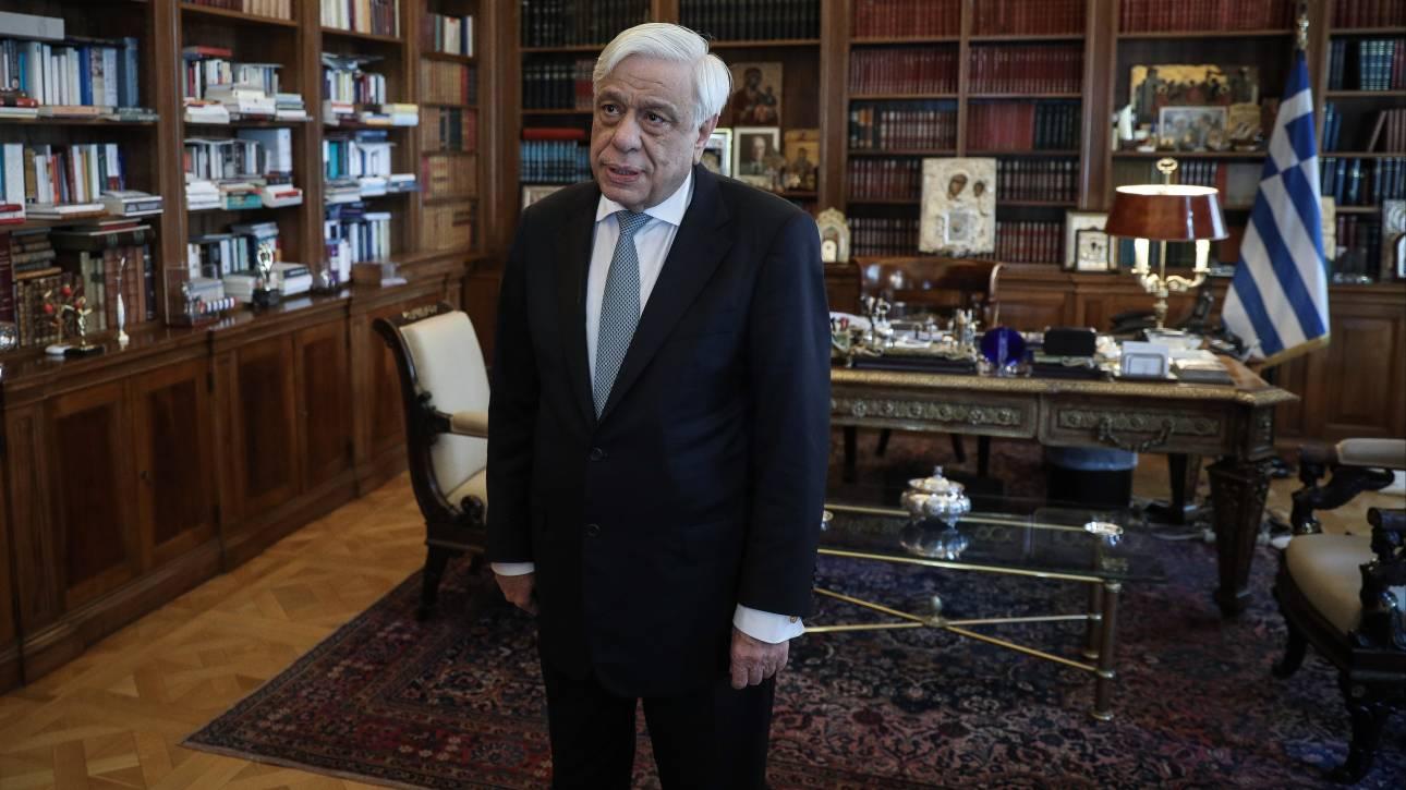 Μήνυμα Παυλόπουλου στην Τουρκία: Αν χρειαστεί μπορούμε να επιβάλουμε το σεβασμό του διεθνούς δικαίου