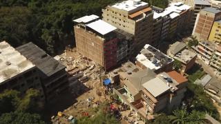 Βραζιλία: 23 νεκροί από την κατάρρευση των κτηρίων σε φαβέλα του Ρίο ντε Τζανέιρο