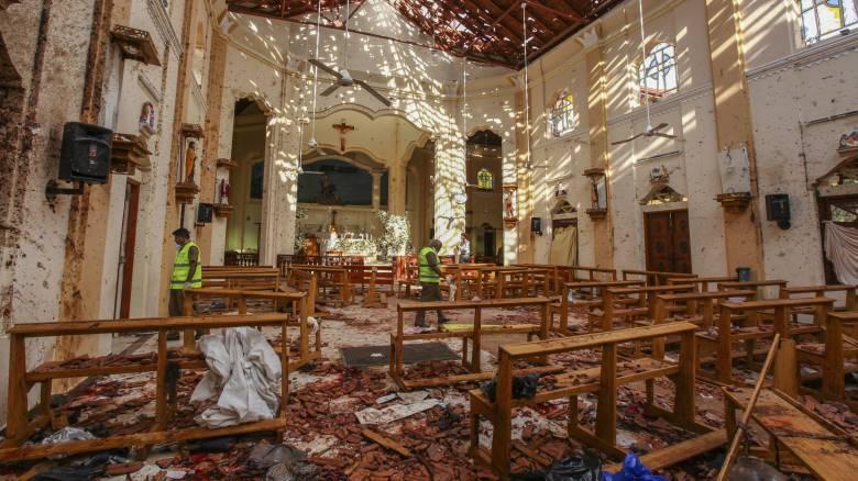 Ματωμένο Πάσχα στη Σρι Λάνκα: Στους 290 οι νεκροί από τις βομβιστικές επιθέσεις