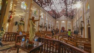 Αιματοκύλισμα στη Σρι Λάνκα: Βίντεο ενός εκ των καμικάζι αυτοκτονίας