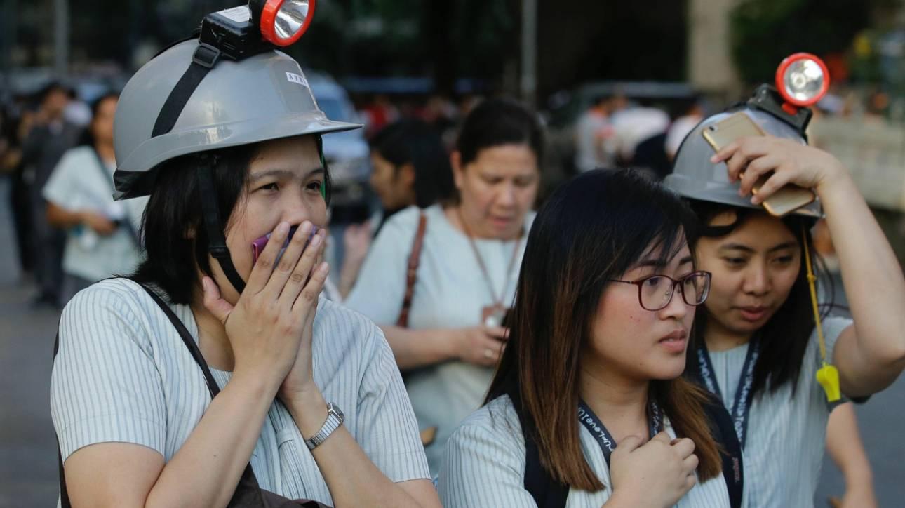 Σεισμός στις Φιλιππίνες: Πέντε νεκροί κατά την κατάρρευση κτηρίων
