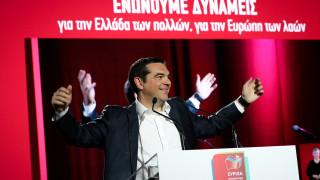 Τσίπρας: Παρουσίασε το ευρωψηφοδέλτιο και κάλεσε σε debate τον Κυριάκο Μητσοτάκη