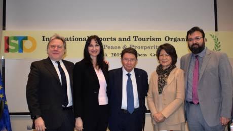 Κατρούγκαλος - Κουντουρά: Ιστορική στιγμή η ίδρυση του Διεθνούς Οργανισμού Αθλητισμού και Τουρισμού