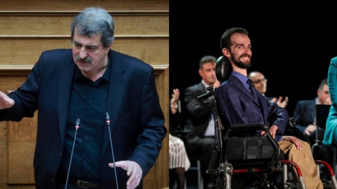 Επίθεση Παύλου Πολάκη κατά του Στέλιου Κυμπουρόπουλου