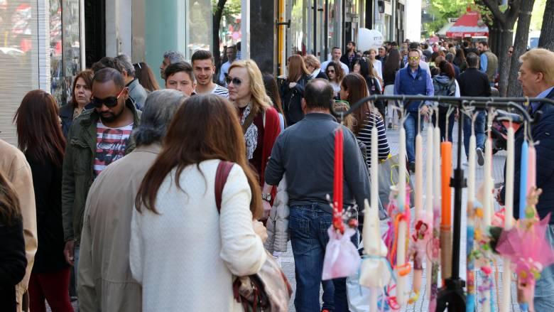 Πασχαλινό ωράριο: Ανοιχτά έως τις 9 σήμερα τα καταστήματα