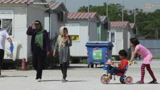 Αστυνομική επιχείρηση στο κέντρο μεταναστών του Ελαιώνα