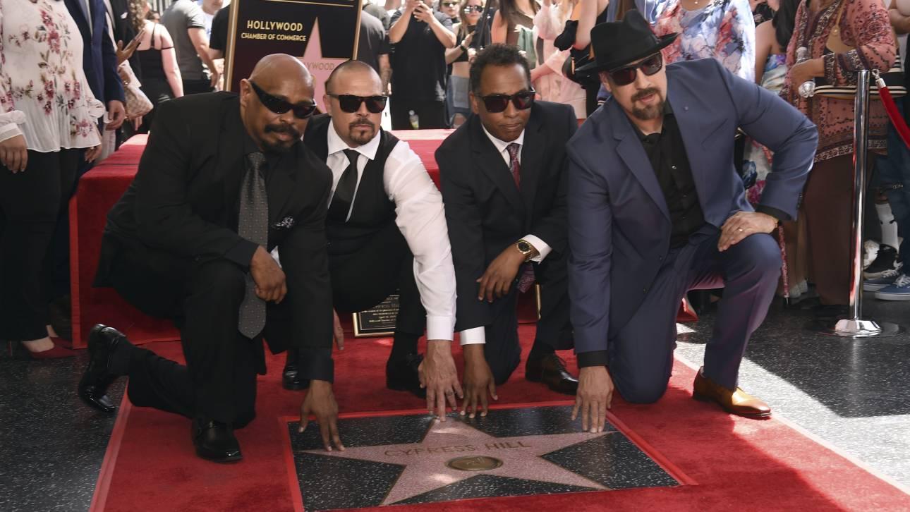 Ένα αστέρι στη Λεωφόρο της Δόξας για τους Cypress Hill