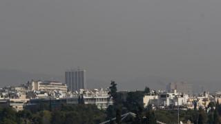 Δορυφορική εικόνα από την πορεία της αφρικανικής σκόνης